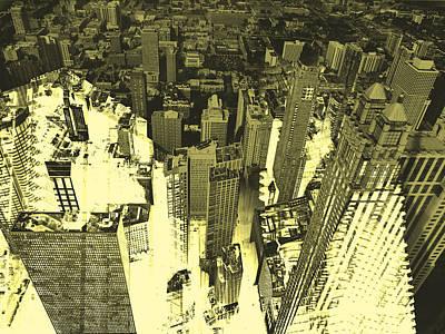 Metropolis Iv Art Print by David Studwell
