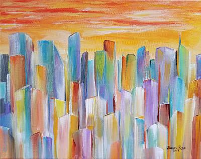 Painting - Metropolis by Judith Rhue