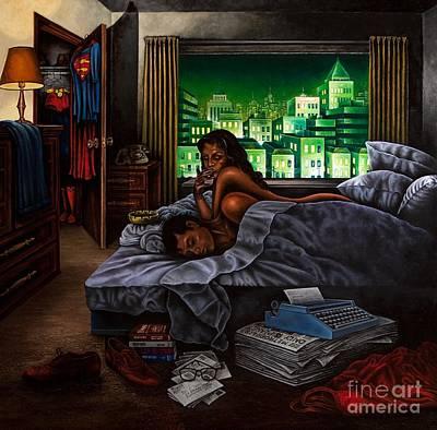 Metropolis Painting - Metropolis by Michael Frank