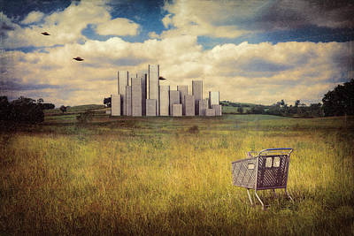 Fiction Photograph - Metropolis by Tom Mc Nemar