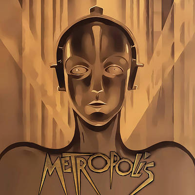 Digital Art - Metropolis - Square by Chuck Staley