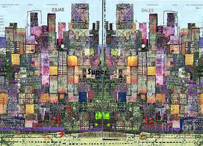 Metropolis Vi Art Print by Andy  Mercer