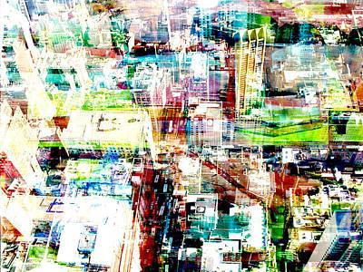 Metropolis Vi Art Print by David Studwell