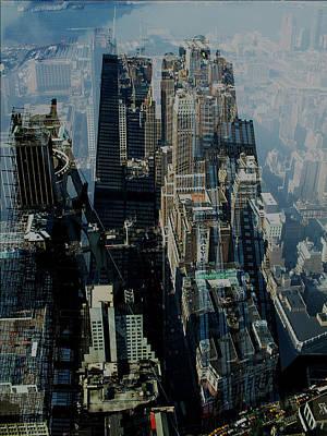 Metropolis Vii Art Print by David Studwell