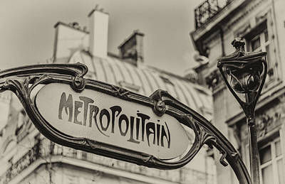 Photograph - Metropolitain by Pablo Lopez