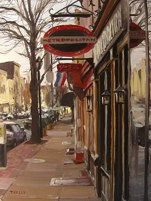 Federal Hill Painting - Metropolitain by Tim Kelly