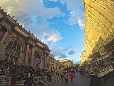 Photograph - Metropolitan Museum Bustle by Steven Lapkin