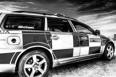 Photograph - Metropolitan Police Car by David Pyatt