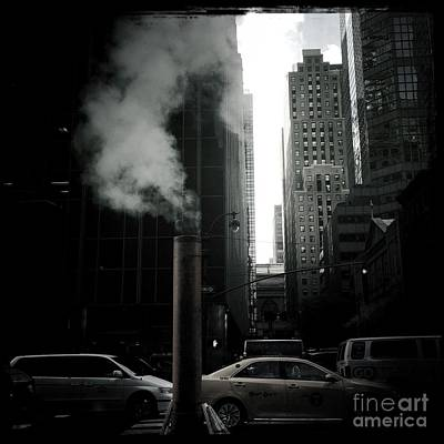 Photograph - Metropolitan Steam by Miriam Danar