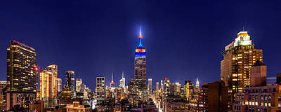 Empire State Building Photograph - Mets Dominance by Az Jackson
