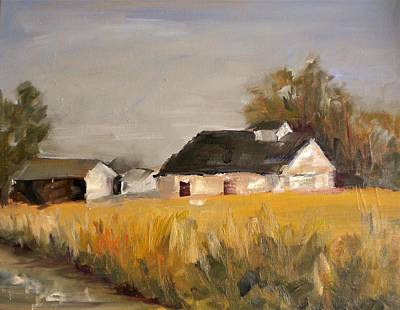 Painting - Metzger Farm by Sally Bullers