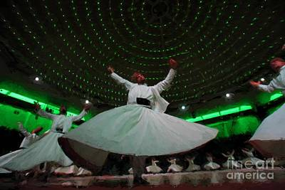 Photograph - Mevlana Dervish by Roberto Giobbi