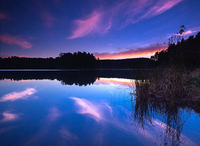 Algonquin Provincial Park Photograph - Mew Lake Sunset by Cale Best