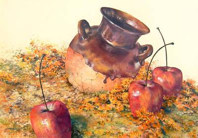 Mexican Apples 2 Print by DEVARAJ DanielFranco