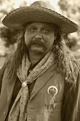 Photograph - Mexican Cowboy by Joel Gilgoff