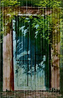 Painting - Mexican Doors by Robert D McBain