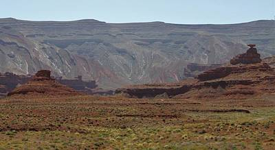 Photograph - Mexican Hat Rock by Christopher Kirby
