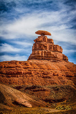Photograph - Mexican Hat Rock by Rikk Flohr