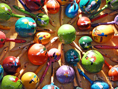 Photograph - Mexican Maracas by Methune Hively