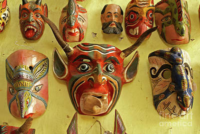 Photograph - Mexican Masks by John  Mitchell