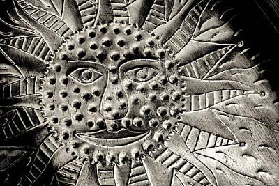 Mexican Mirror Detail Art Print by Carol Leigh
