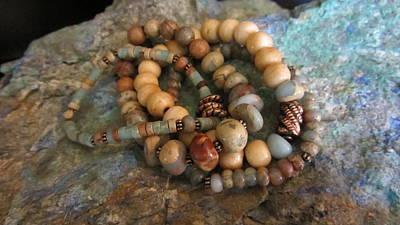 Jewelry - Mexican Opal #b022 by Barbara Prestridge