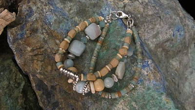 Jewelry - Mexican Opal #b023 by Barbara Prestridge