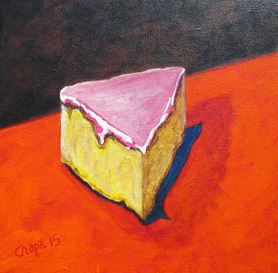Painting - Mexican Pink Cake II by Manny Chapa