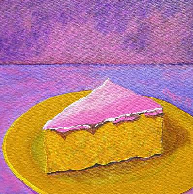 Painting - Mexican Pink Cake IIi by Manny Chapa