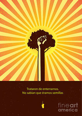 Painting - Mexican Proverb by Sassan Filsoof