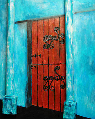 Mexican Turquoise Art Print