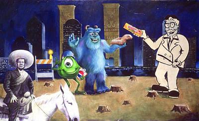 Painting - Mexican Velveeta by Charles Bickel