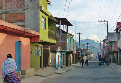 A Town Near Parocho Art Print
