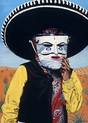 Painting - Mexicano by Michael Earney