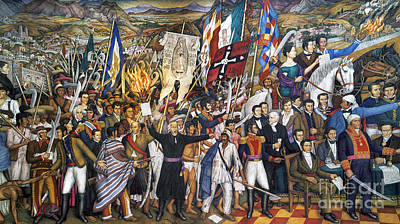Realism Photograph - Mexico: 1810 Revolution by Granger