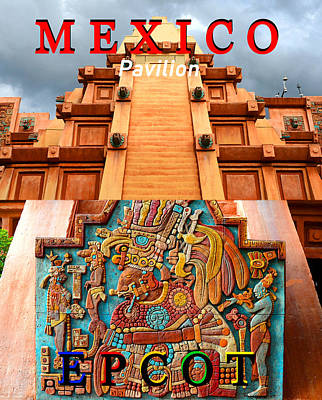 Photograph - Mexico At Epcot by David Lee Thompson
