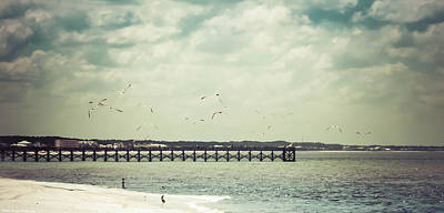 Photograph - Mexico Beach Pier  by Debra Forand