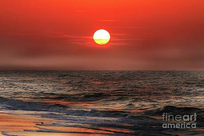 Photograph - Mexico Beach Sunrise by Rick Lipscomb