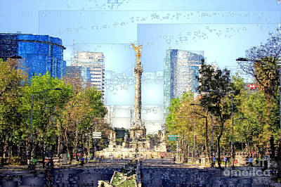 Digital Art - Mexico City D.f by Rafael Salazar