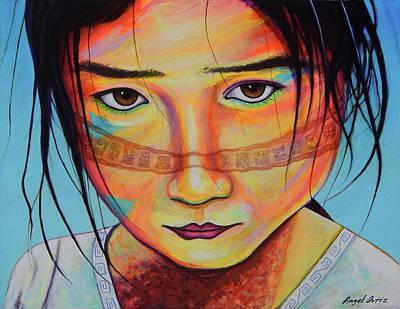 Painting - Mexico Dejame Vivir by Angel Ortiz