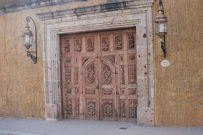 Photograph - Mexico Door 1 By Tom Ray by First Star Art