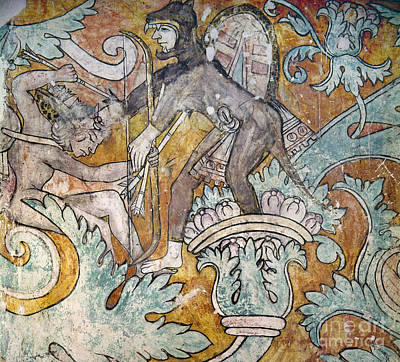 Photograph - Mexico: Ixmiquilpan Fresco by Granger