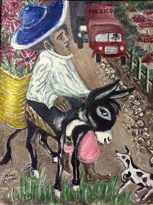 Painting - Mexico by Mimi Eskenazi