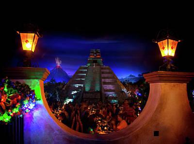 Mexico Pavilion At Epcot Art Print