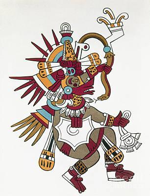 Photograph - Mexico: Quetzalcoatl by Granger