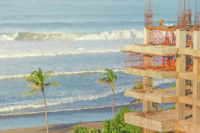 Painting - Mexico Rising by Bill McEntee