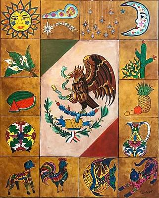 Painting - Mexico  by Thelma Delgado