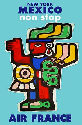 Digital Art - Mexico Travel by Gary Grayson