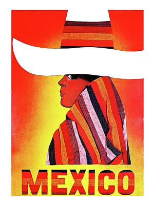 Mexico Travel Poster Art Print