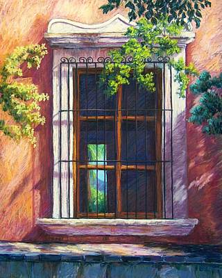 Mexico Window Art Print by Candy Mayer